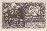 Austria, 20 Heller, FS 912a