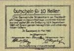 Austria, 10 Heller, FS 903a