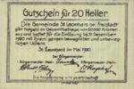 Austria, 20 Heller, FS 903a
