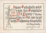 Austria, 10 Heller, FS 904a