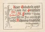 Austria, 20 Heller, FS 904b