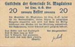 Austria, 20 Heller, FS 906c