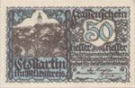Austria, 50 Heller, FS 912b