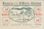 Austria, 10 Heller, FS 913a