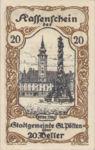 Austria, 20 Heller, FS 927III