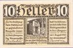 Austria, 10 Heller, FS 945a