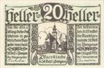 Austria, 20 Heller, FS 945a