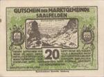 Austria, 20 Heller, FS 859b