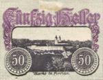 Austria, 50 Heller, FS 878I