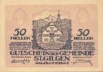 Austria, 50 Heller, FS 891a