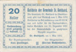 Austria, 20 Heller, FS 892
