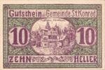 Austria, 10 Heller, FS 899