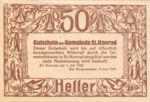 Austria, 50 Heller, FS 899
