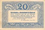 Austria, 20 Heller, FS 899