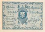 Austria, 50 Heller, FS 914IIIa