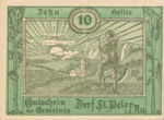 Austria, 10 Heller, FS 923Ac