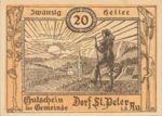 Austria, 20 Heller, FS 923Ac