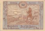 Austria, 50 Heller, FS 923Ac