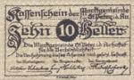 Austria, 10 Heller, FS 924b