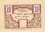 Austria, 20 Heller, FS 925b