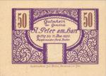 Austria, 50 Heller, FS 925b