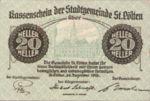 Austria, 20 Heller, FS 927IE