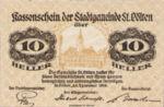 Austria, 10 Heller, FS 927IIA