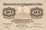 Austria, 10 Heller, FS 927IIC