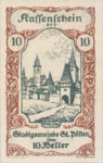 Austria, 10 Heller, FS 927III