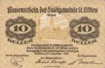 Austria, 10 Heller, FS 927Ix