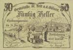 Austria, 50 Heller, FS 942a