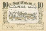 Austria, 10 Heller, FS 943a