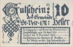 Austria, 10 Heller, FS 944a