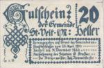 Austria, 20 Heller, FS 944a