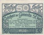 Austria, 50 Heller, FS 944a