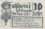 Austria, 10 Heller, FS 944b