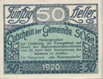 Austria, 50 Heller, FS 944b