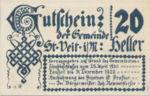 Austria, 20 Heller, FS 944c