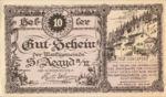 Austria, 10 Heller, FS876a