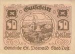 Austria, 50 Heller, FS 915b