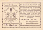 Austria, 10 Heller, FS 917