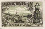 Austria, 10 Heller, FS 918