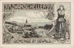 Austria, 20 Heller, FS 918