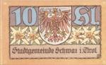 Austria, 10 Heller, FS 983a