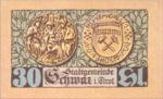 Austria, 30 Heller, FS 983a