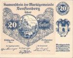 Austria, 20 Heller, FS 993g