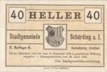 Austria, 40 Heller, FS 951IIb