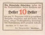 Austria, 10 Heller, FS 952a