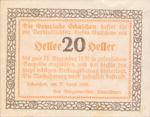 Austria, 20 Heller, FS 952a