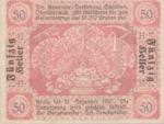 Austria, 50 Heller, FS 959a